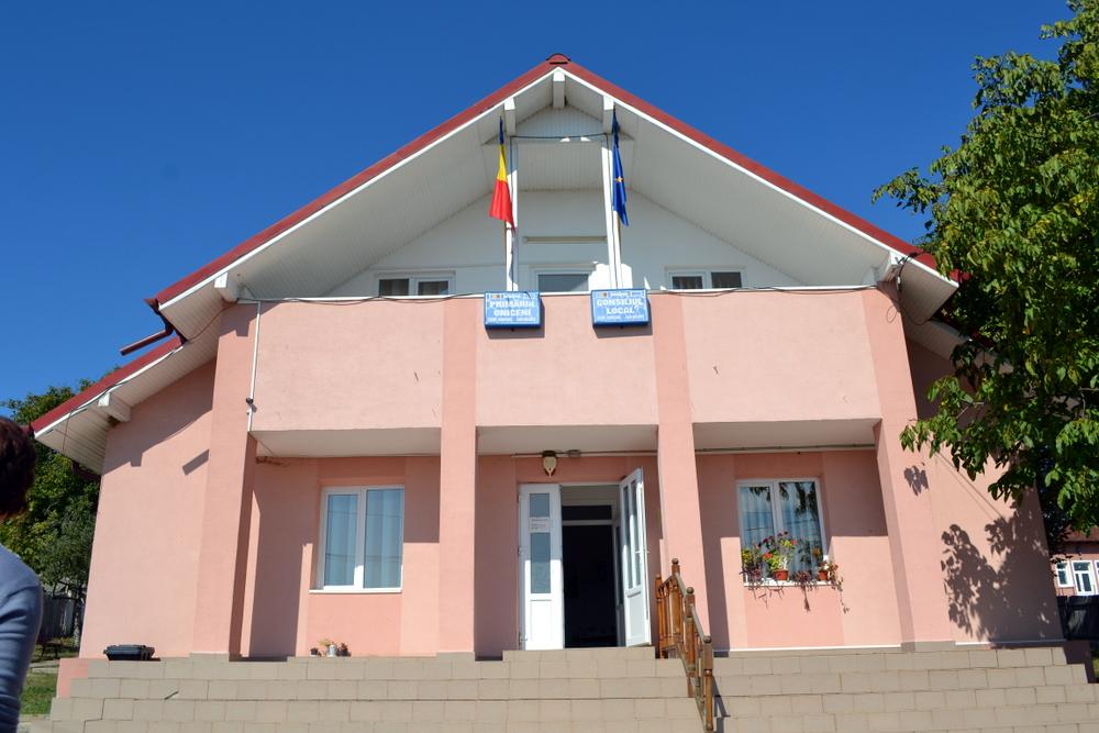 Sediul Primariei Comunei Oniceni